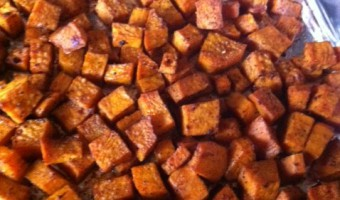 Easy Oven Roasted Sweet Potatoes