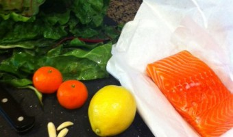 Quick and Easy Steamed Salmon