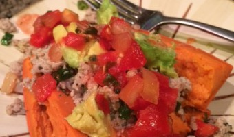 Stuffed Sweet Potatoes – Paleo Style