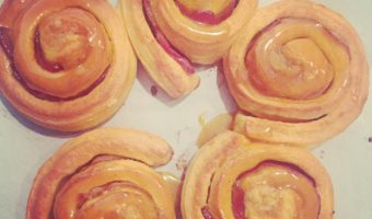 Pumpkin Rolls with Bacon