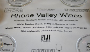 What? Rhone Valley Wines? YES!!! HdR2011!!!