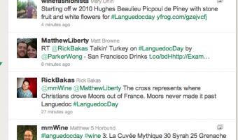 Languedoc Region Twitter Online Wine Tasting