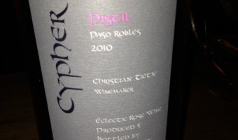 Cypher Winery at Artisan Monday Night Supper