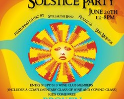 Broken Earth Winery: Summer Solstice Party