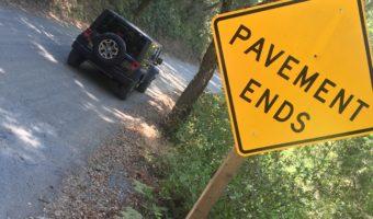Adventure: Santa Rita Rd. to Old Creek Rd. to Cayucos