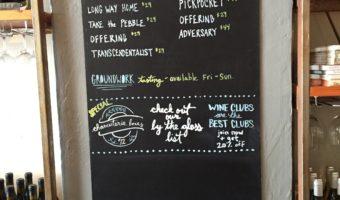 Wine Tasting: Sans Liege in Pismo Beach, CA