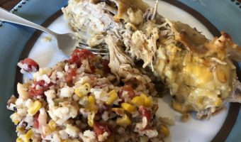 Cooking with Annie: Chile Verde Enchilada Casserole