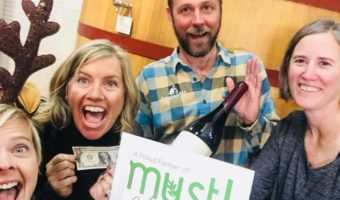 Press Release: Local Wineries Donate a Buck a Bottle for must! Month