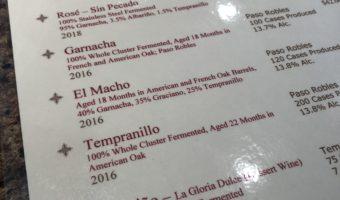Paso Robles Wine: Diablo Paso
