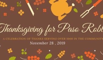 The 35th Annual Thanksgiving Dinner for Paso Robles Returns to Centennial Park