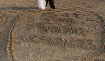 Barefoot on the Beach: 5 Years Married